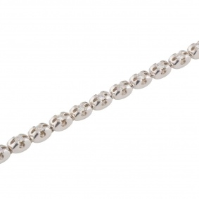 White Gold Diamond Bracelet 0.90ct G/VS